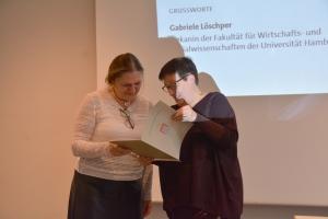 Gabriele Löschper, Dekanin der Fakultät für Wirtschafts- und Sozialwissenschaften